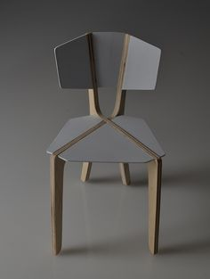 1/4th scale model of a chair