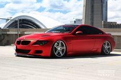Red BMW on Vossen wheels - Vossen World Tour Toronto