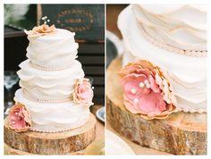 rustic wedding cake stand - vintage wedding cake - Scottsdale Wedding Photographer | Rachel Solomon Photography