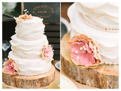 rustic wedding cake stand - vintage wedding cake - Scottsdale Wedding Photographer | Rachel Solomon Photography