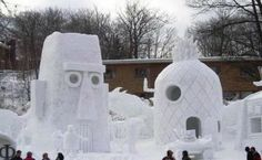 A Cool Collection Of Epic Snow Sculptures - Neatorama