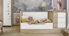 S Aldem se narodíme, ale také zestárnete. - pořízením postýlky získáte dětský pokoj až do dospělosti dítěte - postýlku můžete rozložit na dětskou postel a psací stůl - postýlka pro matraci o velikosti 70x140 cm dětská postel pro matraci o velikosti 90x200 cm - postel s hlubokými šuplíky Toddler Bed, Furniture, Design, Home Decor, Child Bed, Decoration Home, Room Decor, Home Furnishings