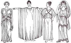 vestizione-roma-antica Ancient Rome, Ancient Greece, Historical Costume, Historical Clothing, Rome Costume, Ancient Greek Clothing, Biblical Costumes, Roman Dress, Costumes