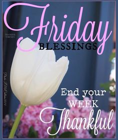 Friday Blessings End Your Week Thankful friday happy friday tgif good morning friday quotes good morning quotes friday quote happy friday quotes good morning friday Good Morning Sister, Good Morning Friday, Good Morning Happy, Friday Weekend, Good Morning Quotes, Happy Weekend, Morning Sayings, Happy Friday Quotes, Blessed Friday