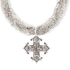 Redeemer Multi-Chain Necklace #TraciLynnJewelry Traci Lynn Fashion Jewelry, Spring Summer Fashion, Chokers, Bling, Chain, Diamond, Pendant, Silver, Summer Styles