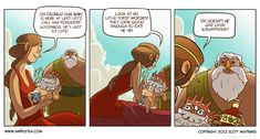 The Hunger - Happle Tea Comic    FYI this joke isn't funny unless you know a bit about Greek mythology.