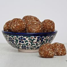 These maca energy balls are super healthy. Rich in minerals and omega-3s they are a perfect beauty and mood food, plus they're amazingly easy to make. They only