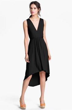 pleated high low dress @nordstrom