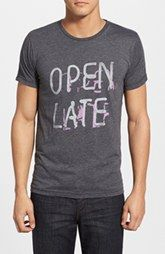 Jacks & Jokers 'Open Late' Graphic T-Shirt