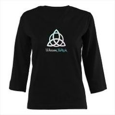 Keep affordable gifts in mind for Christmas. Check out my shop on Cafepress for more Pagan, Witchy, nature and fantasy items! 3/4 Sleeve T-shirt Wiccan witch with triqeutra (Dark) > Wiccan Witch > Magickal Enchantments