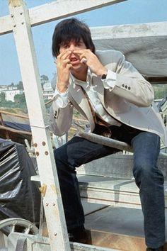 Keith Richards doing the Nanker phelge