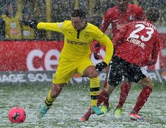 Freiburg - Dortmund 0:2 / the snow can't stop us!