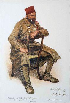 Les troupes coloniales en Rhénanie |  SAHARI Miloud Ben hadj Mohamad, Fellah, Oulad Bouriah, Oran, 7ème régiment de tirailleurs algériens, Ludwigshafen, avril 1919