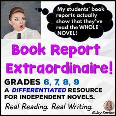 Book Report Extraordinaire