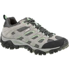 Ditch the dainty footwear for a weekend in the mountains in the Merrell® Women's Moab Waterproof hiking shoe. Protect your feet from the elements in a waterproof leather upper and interior Aegis®-treated lining, promoting a healthy step with an Ortholite® anatomical footbed. QForm® technology targets key areas on the foot, providing a female-specific fit for unparalleled comfort.