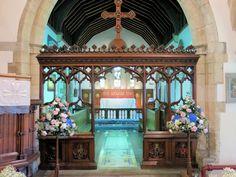 Church Pedestals Magical Wedding, St Michael, House Styles, Floral, Decor, Flowers, Decorating, Dekoration, Deco