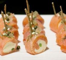 Recette - Petits roulés gourmands de saumon fumé - Notée 4.3/5 par les internautes