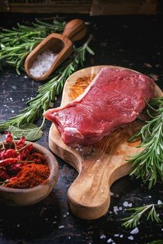 Want access to the best stock images for every possible category? Choose from hu… Want access to the best stock images for every possible category? Choose from hundreds of thousands of images! Food Photography Styling, Food Styling, Raw Food Recipes, Meat Recipes, Meat Art, Meat Shop, Meat Appetizers, Fresh Meat, Le Chef