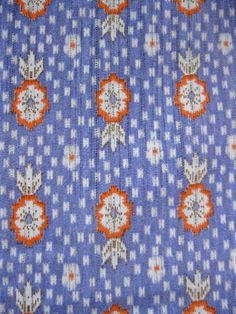 Ikat Floral Vintage 60s Fabric by Avila Group Inc.