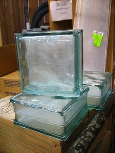 Brand New Glass Block