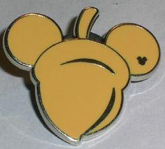 Hidden Mickey Mouse pin