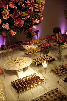 roses - mesa doces