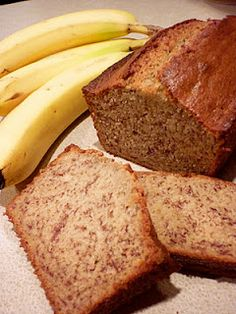 Healthy banana bread- making this this weekend using chobani plain Greek yogurt. Worth a shot!
