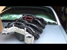 Lincoln Town Car Coolant Leak Repair - Composite Intake Manifold - YouTube