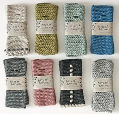 Sandra Juto - wrist worms These are knitted, but should be able to crochet also. Crochet Quilt, Diy Crochet, Crochet Crafts, Yarn Crafts, Knitting Projects, Crochet Projects, Knitting Patterns, Crochet Patterns, Crochet Gloves