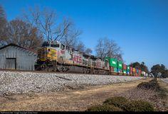 RailPictures.Net Photo: KCS 4609 Kansas City Southern Railway GE AC4400CW at Flowery Branch, Georgia by Jordan Hood