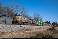 RailPictures.Net Photo: KCS 4609 Kansas City Southern Railway GE AC4400CW at Flowery Branch, Georgia by Jordan Hood