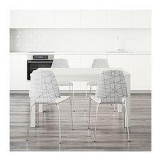 BJURSTA / VILMAR Stol+4stolice IKEA Produljivi blagovaonski stol s 2 dodatne ploče za 4 – 8 osoba; veličinu stola prilagodite prema potrebi.