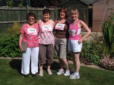 Staff here at Riversway are always keen to support the local community and the weekend's Race for Life was a great opportunity.