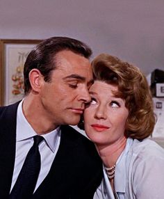 Sean Connery & Lois Maxwell