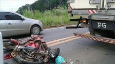 Por volta das 17:30h da tarde desta sexta feira(18), um grave acidente de trânsito na BR 364, pr...