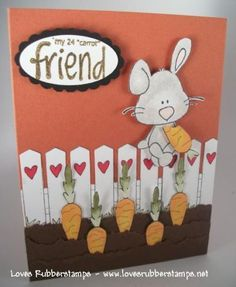 Easter Card - use SU products