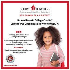 Woodbridge! Join us for Source4Teachers' Open House on 9/23 at Woodbridge High School Auditorium! RSVP now!