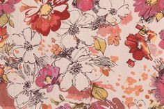 Never let Me Go in Tigerlily Tapestry Upholstery Fabric by Mill Creek $11.95 per yard