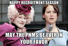 Happy #recruitment season! #hungergames-This is so how I feel right now haha