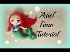 ♡ Ariel in Fimo / Little Marmaid Polymer Clay - Tutorial ♡