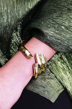 Bernard Delettrez Bronze Hand Cuff Bracelet Cute Jewelry, Jewelry Accessories, Fashion Accessories, Fashion Jewelry, Unique Jewelry, Gold Jewelry, Jewelry Shop, Jewelry Stores, Handmade Jewelry
