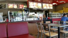 Restaurant Interior, Robin's Donuts  |  445 10th Street, Brandon, Manitoba R7A 4G3, Canada