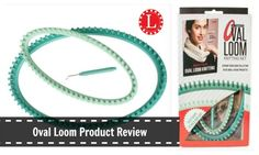 The Ultimate Oval Loom Product Review with Video Tutorial to show you the good and ugly of this product plus the many ways to use the odd shaped loom.