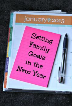 Setting Family Goals In The New Year