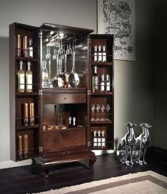 1000 images about decoracion con bares on pinterest for Bar licorera de madera para sala