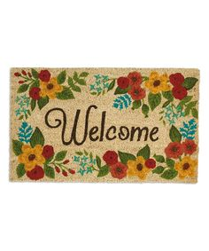 Wholesale home decor and wholesale gifts from Design Imports. Shop our holiday aprons, doormats, kitchen towels and gift sets Entry Mats, Wholesale Home Decor, Cottage Furniture, Spring Home Decor, Coir, Welcome Mats, Garden Supplies, Joss And Main, Floral Motif