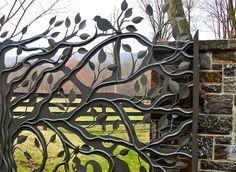 Beautiful Fence