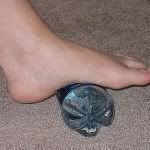 Plantar Fasciitis Treatment- or just a great tip for any kind of sore feet!