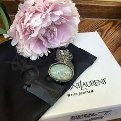 Saint Laurent Yves Saint Laurent YSL Ovale Arty Ring Limited Edition
