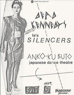 Rock Posters, Movie Posters, Dead Kennedys, Punk Poster, New Flyer, Vintage Concert Posters, Zine, Flyers, Japanese